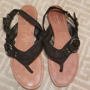 Coach Olympia Sandals Mismatch